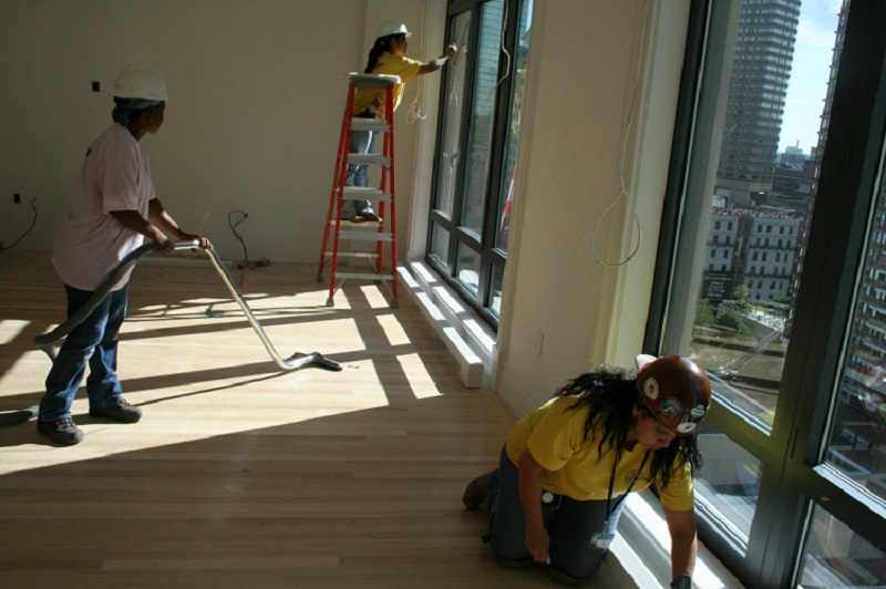 builders cleaning construction cleaning